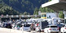 Stau-Alarm! Lange Wartezeiten für Reisende an Grenzen