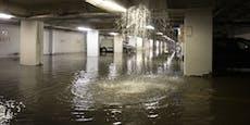 Unwetter mit Rekord-Regen setzte Graz unter Wasser