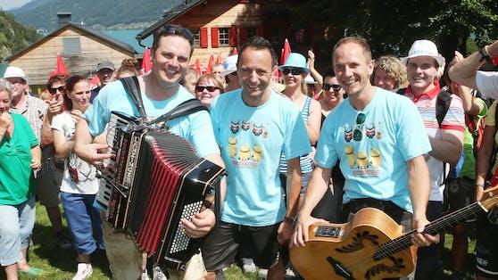 """Am 14. August feiern die Jungen Zillertaler mit Freunden und Fans ihr traditionelles """"JuZi-Open Air""""."""