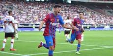 Ex-Rapidler Demir erzielt erstes Tor für Barcelona