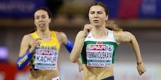 Asyl in Wien? Olympia-Sprinterin sollte entführt werden