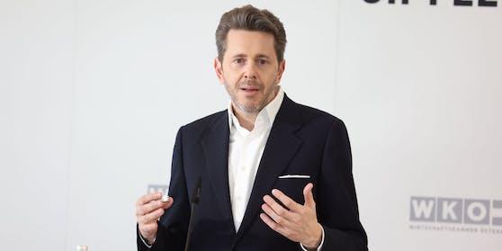 WKO-Chef Harald Mahrer