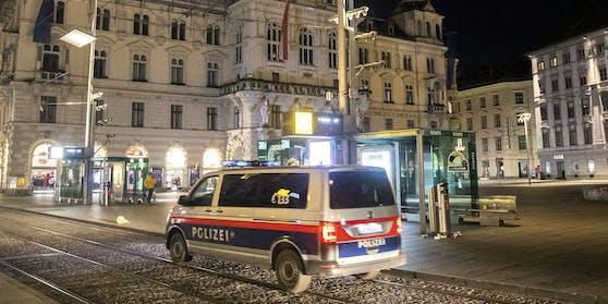 Feierwütige hielten die Grazer Polizei in Atem (Symbolbild)