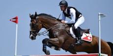 Pferd muss nach Olympia-Unfall eingeschläfert werden