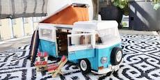 LEGO Volkswagen T2 Campingbus im Test: Bus-Hype!