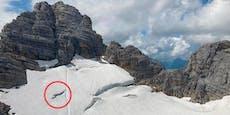 Schwedin stürzte fünf Meter in Gletscher-Spalte