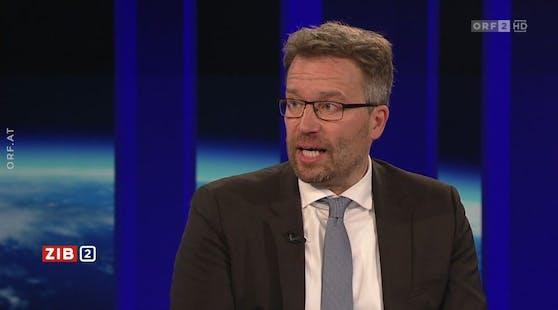 AMS-Chef Kopf in der ZIB2 am 2. August 2021.