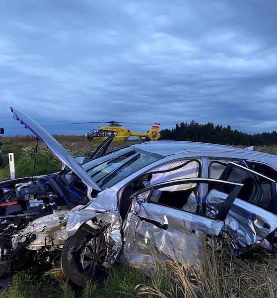 Schwerer Verkehrsunfall im Bezirk Zwettl
