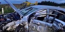 Fünf Verletzte bei Unfall, darunter zwei kleine Kinder