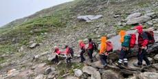 Wanderer stürzt von derAhornspitze in den Tod