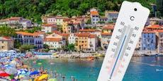 In Italien und am Balkan droht Höllenhitze von 50 Grad