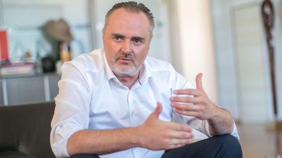 Landeshauptmann Hans Peter Doskozil