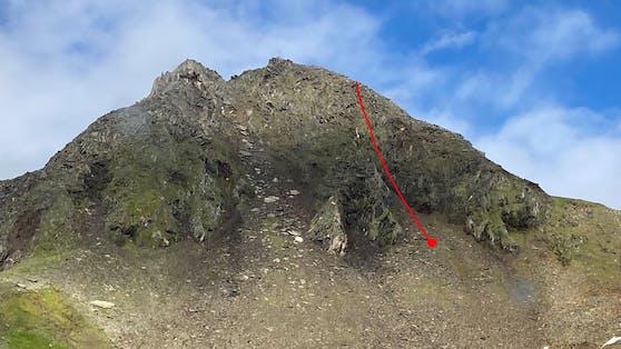 Tödlicher Alpinunfall auf der Ahornspitze in den Zillertaler Alpen am 2. August 2021.