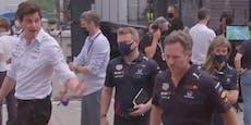 Formel-1-Zoff: Red-Bull-Boss verwehrt Wolff Handschlag