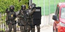 Polizei-Einsatz mit Cobra im Bezirk Baden