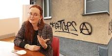 """""""Stadt toleriert Hass-Botschaften an jeder Wand!"""""""