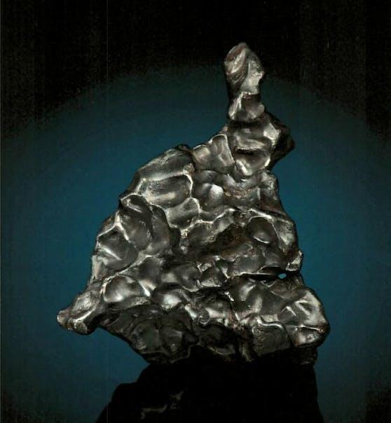 In Wien wurde dieser Meteorit gestohlen. Wert: 12.000 Euro!