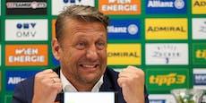 Rapid-Sportchef Barisic spricht über mögliche Wechsel