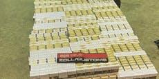Zoll beschlagnahmt an Grenze 160.000 Zigaretten