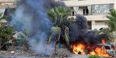 Angreifer attackieren Trauermarsch im Libanon