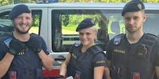 Pechvogel im Glück: Polizei rettet Mauersegler in City
