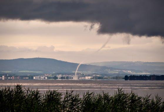 Tornado auf dem Bodensee