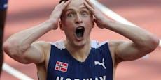 Norweger zertrümmert bei Gold-Lauf den Weltrekord