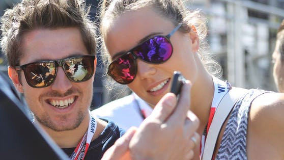 Marcel und Laura Hirscher.