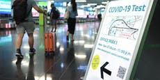 Ab heute Pflicht – so laufen die PCR-Tests am Flughafen