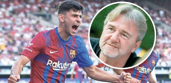 """Austria-Ikone Ogris traf einst per Traumfersler gegen Barcelona: """"Es ist ein Labor, wo Demir reifen kann."""""""