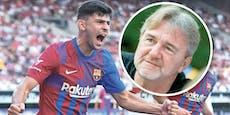 """Ogris: """"Ist Demir schlau, saugt er mehr als Messi auf"""""""