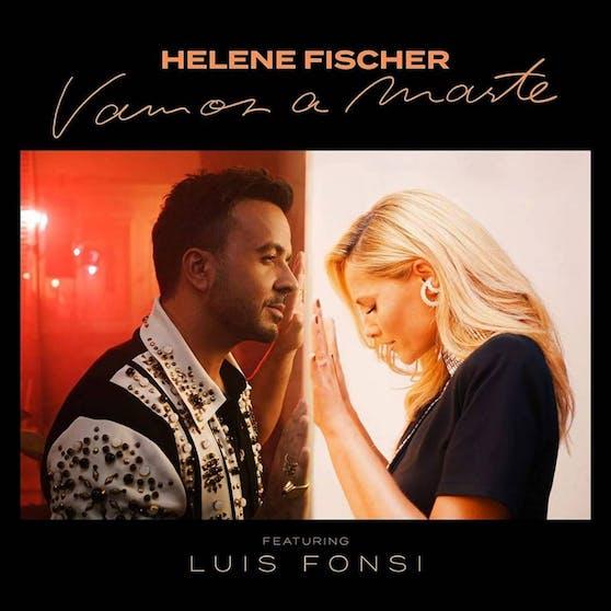 """Offiziell erscheint Helene Fischers Duett mit Luis Fonsi """"Vamos A Marte"""" erst am kommenden Freitag - jetzt gibt es eine erste Hörprobe auf TikTok"""