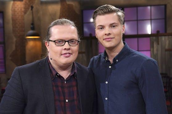 Angelo Kelly mit Sohn Gabriel Kelly im Jahr 2019