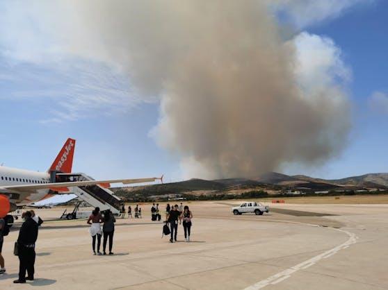 Un explorador de noticias nos envió una foto después del vuelo de Basilea a Split.