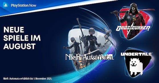 PlayStations Spiele-Abo-Dienst PlayStation Now präsentiert die neuen Titel.