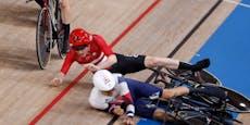 Mit Gegner kollidiert: Sturz kostet Dänen Weltrekord
