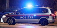 Betrunkene rasten nach Unfall aus – Polizisten gebissen
