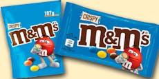 Genmanipulierte Stoffe – Rückruf bei diesen M&M's