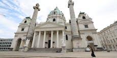 18-Jähriger beschmiert Karlskirche mit Hass-Symbolen