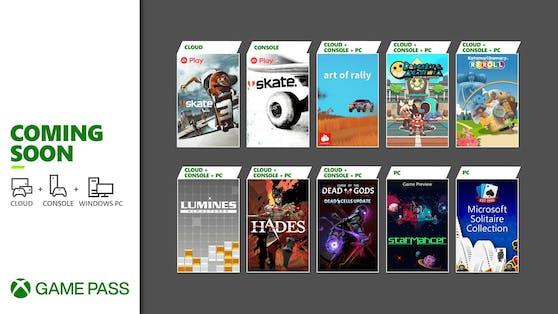 Xbox Game Pass: Die Highlights im August.