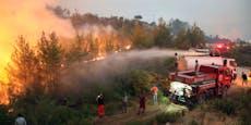 Floriani lässt wegen Waldbränden Flitterwochen sausen