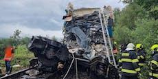 Zug-Drama inTschechien: Zwei Tote, Dutzende Verletzte