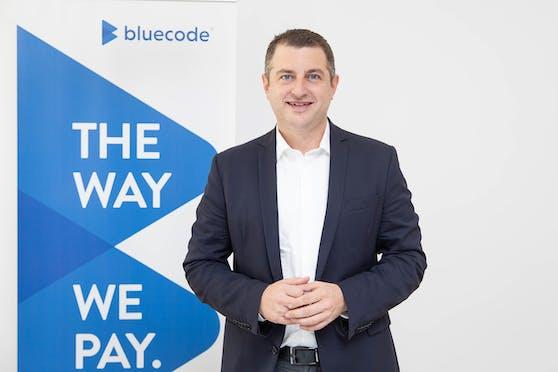 Christian Pirkner, CEO Blue Code International AG.