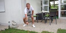 """Schlangen-Alarm: """"Trau mich nicht mehr auf Terrasse"""""""