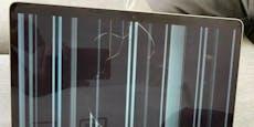 Macbook-Displayshaben schon nach kurzer Zeit Risse