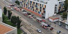Riesiges Feuerwehr-Aufgebot in Wien-Simmering