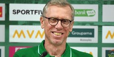 Coach Stöger auf dem Weg in die Champions League