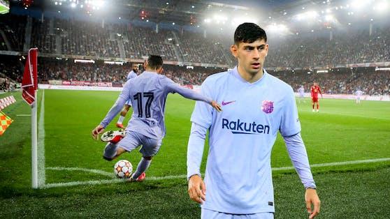 Yusuf Demir kam auch gegen Salzburg zum Einsatz.