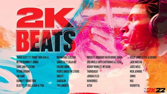 """""""NBA 2K22"""" enthüllt ein neues Soundtrack-Erlebnis."""