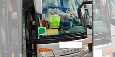 17 Stunden pro Tag gefahren – Polizei stellt Busfahrer